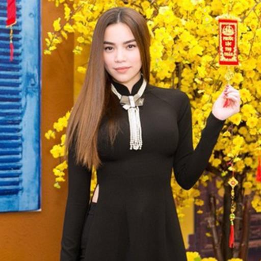 Hồ Ngọc Hà diện áo dài đen sang trọng, nổi bật tại sự kiện