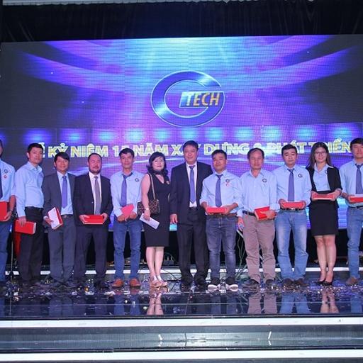 Công ty Cổ phần Kỹ nghệ Toàn Cầu GTECH tưng bừng mừng sinh nhật lần thứ 15