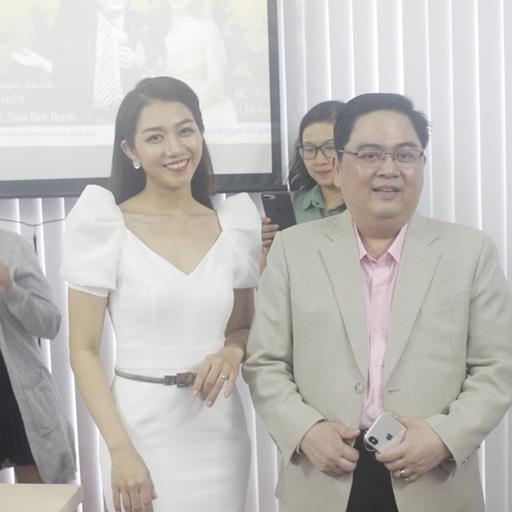 """Diễn giả Lê Văn Hiển, MC Trà Mi – 2 Thầy Trò cùng tái hợp trong buổi workshop """"Nghệ thuật chinh phục nghề MC"""""""
