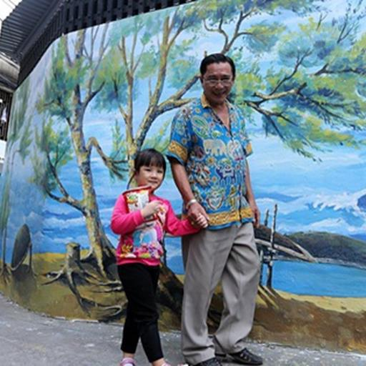 Chùm ảnh: Ngắm nhìn những bức tranh đầu tiên ở làng bích họa trong lòng thành phố Đà Nẵng