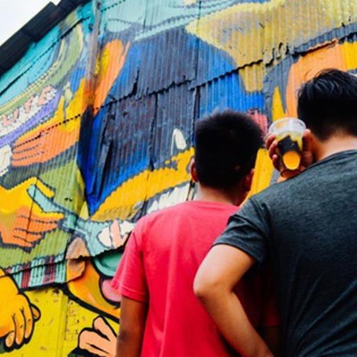"""Hãy nhìn xem, Graffiti đã biến một khu dân cư thành """"cái nôi nhiếp ảnh"""" dành cho giới trẻ thế nào"""