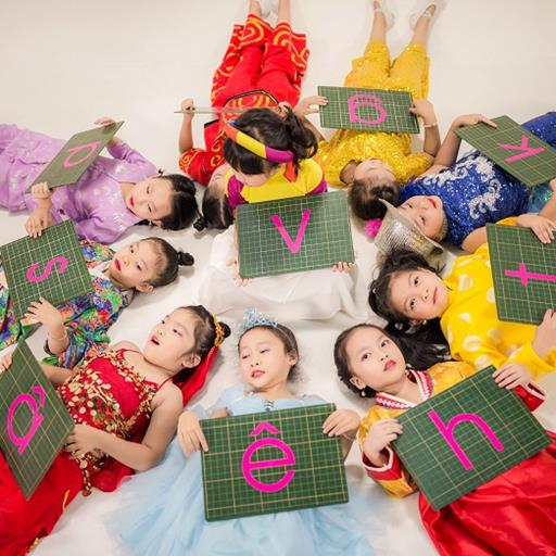 Dễ học tiếng Việt hơn qua bài hát A Ă Â, âm nhạc dành riêng cho bé
