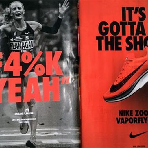 Nike ra mắt quảng cáo Zoom Vaporfly 4%