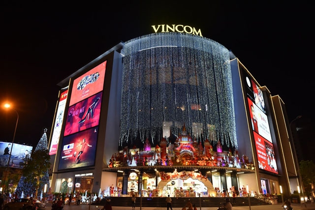 Vincom Retail kế hoạch lãi 2.500 tỷ đồng năm 2018, tăng 23%