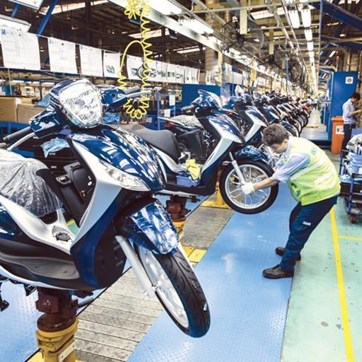 Xe tay ga áp đảo trên thị trường xe máy Việt Nam