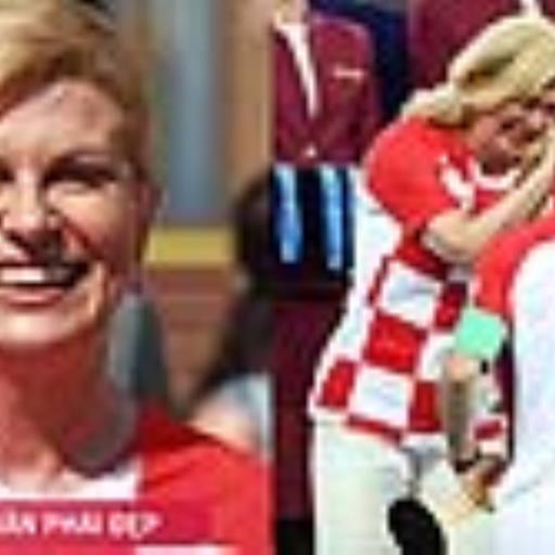 Croatia đã thua nhưng nữ Tổng thống của họ lại là người chiến thắng
