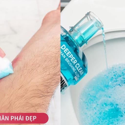 Những công dụng tuyệt vời của nước súc miệng chắc chắn nhiều người chưa biết (Phần 1)