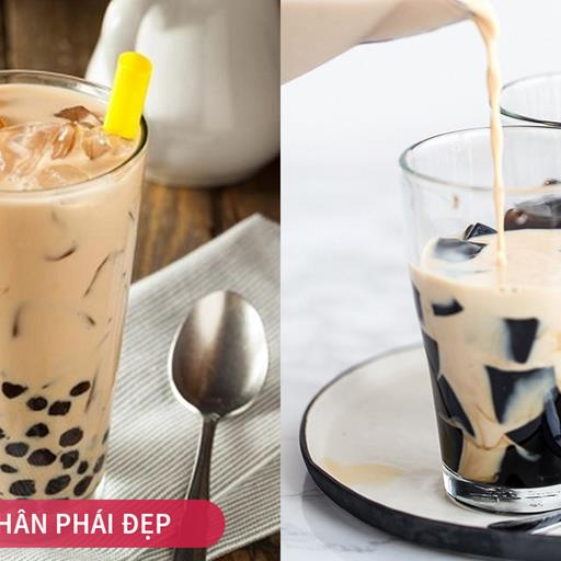 Hết tốn tiền uống trà sữa ở ngoài, chỉ cần ít thời gian bạn đã có ly trà sữa béo ngay tại nhà