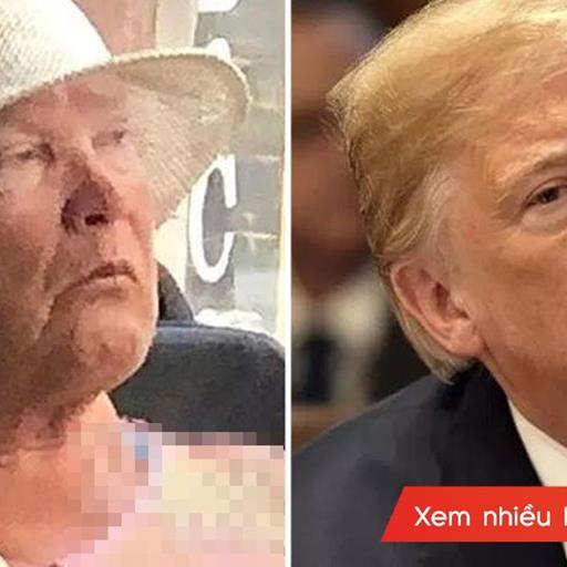 """Xuất hiện """"phiên bản chuyển giới"""" của Tổng thốngDonald Trump tại Nga khiến CĐM phát sốt"""