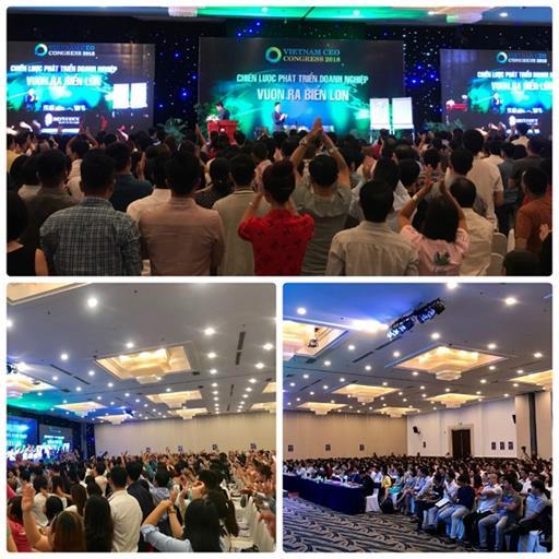 Hơn 2000 doanh nhân tham dự Ngày hội Doanh nhân Việt Nam - Vietnam Ceo Congress 2018