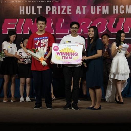 SEVEN - Quán Quân mùa đầu tiên của chung kết On Campus Hult Prize 2019 at UFM