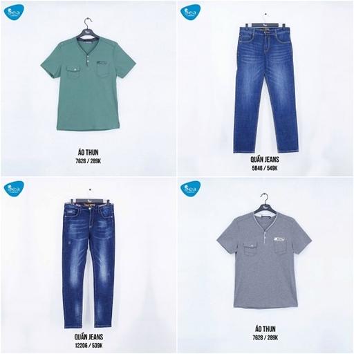 Cá tính với phong cách thời trang của Sea Collection