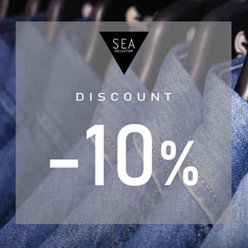 Tưng bừng nghĩ lễ đến Sea nhận ngay ưu đãi giảm ngay 10% khi mua 2 sản phẩm nguyên giá trở lên