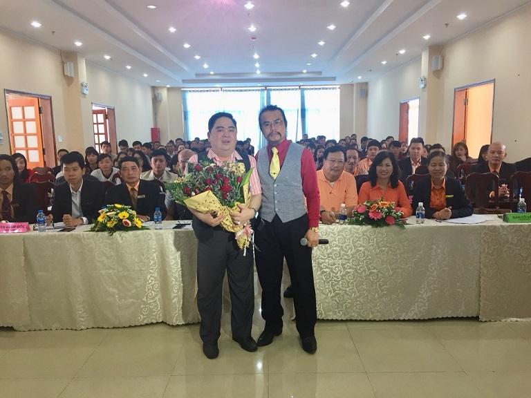 Liên Minh Group chào đón Chuyên gia tâm lý - Diễn giả  Lê Văn Hiển về đào tạo huấn luyện nhân sự
